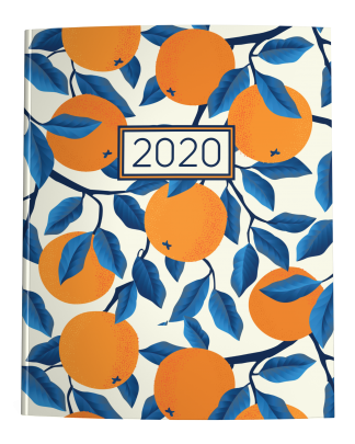 2020 Planner Oranges on Cream