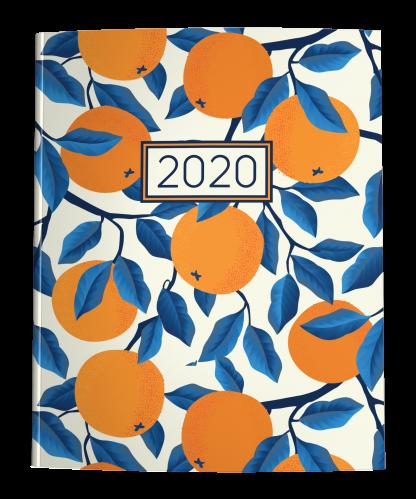 2020 Planner Oranges on Cream