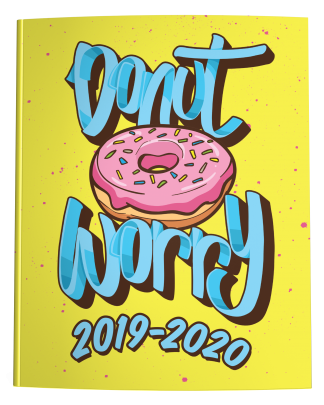 2019-2020 Dated Academic Planner | Donut Worry
