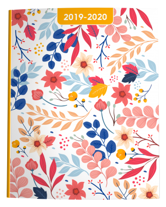 2019-2020 Floral Academic Planner