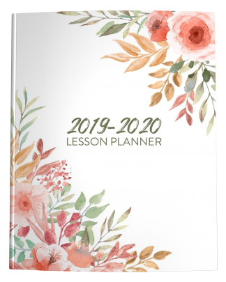 Floral Lesson Planner 2019-2020