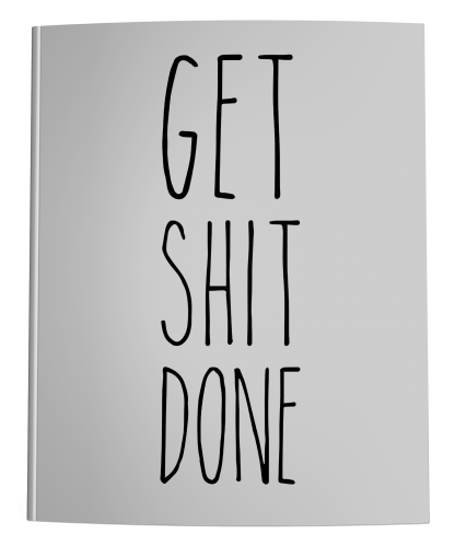 Get Shit Done Academic Planner