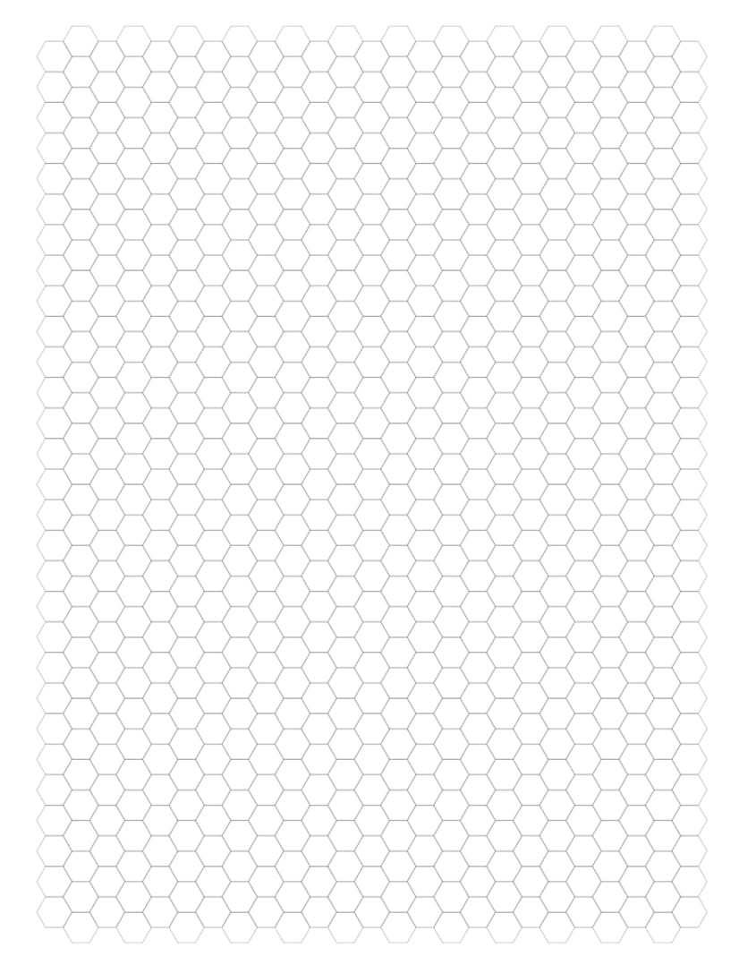 It's just a graphic of Sassy Printable Hexagon Grid