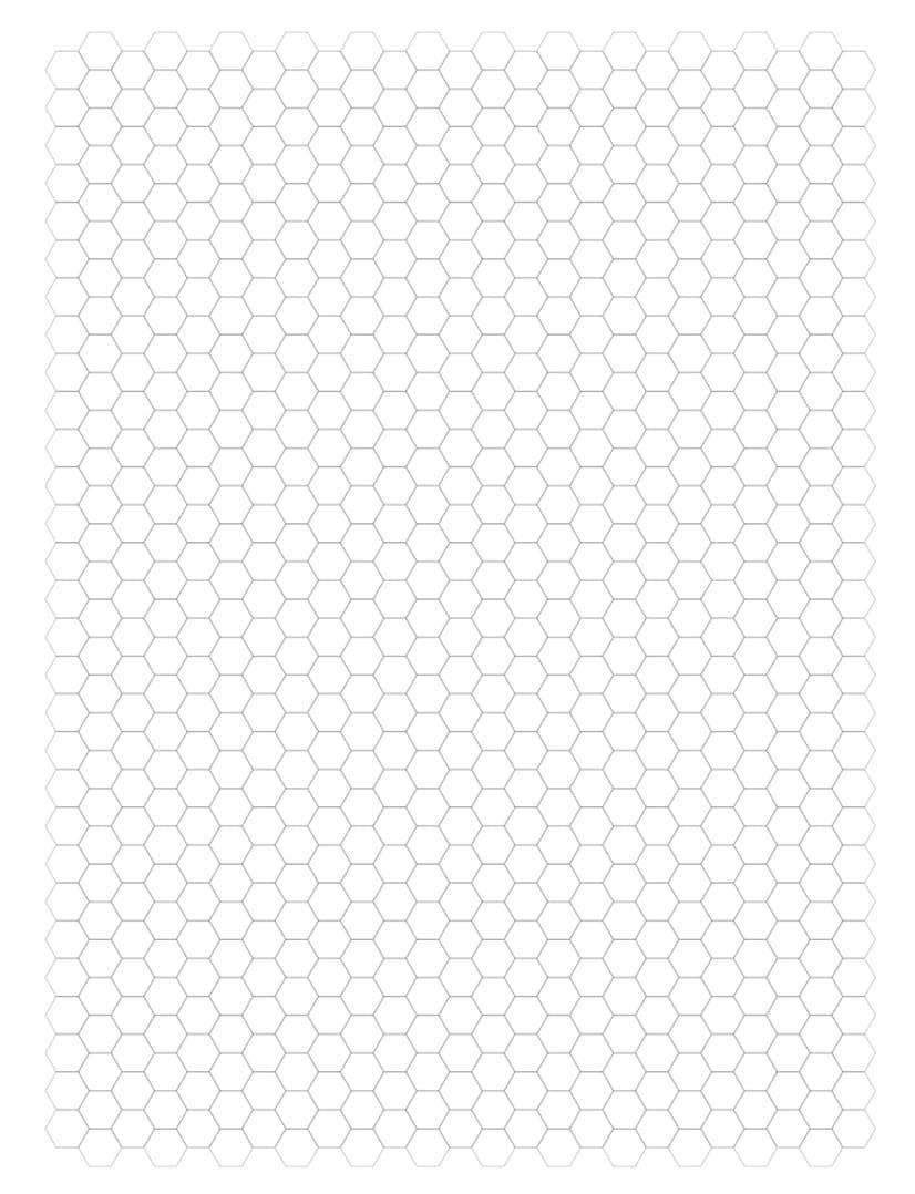 image regarding Printable Hexagon Graph Paper called Hexagon Graph Paper Laptop Blush Red