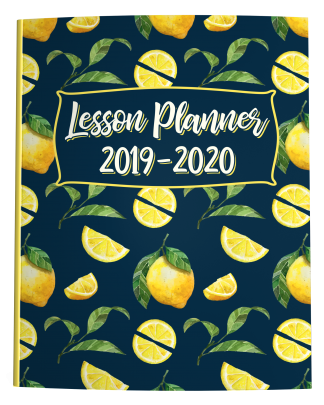 Lemon Teacher Lesson Planner