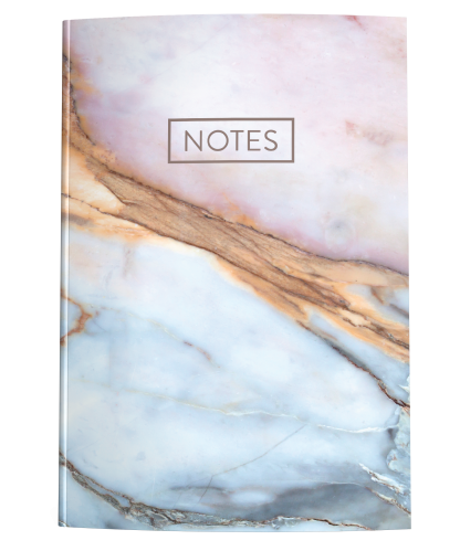 Pink & Blue Marble Journal