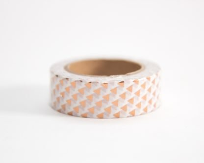 Rose Gold Triangle Washi Tape