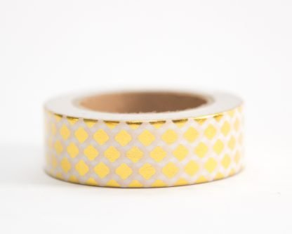 Gold Diamond Washi Tape