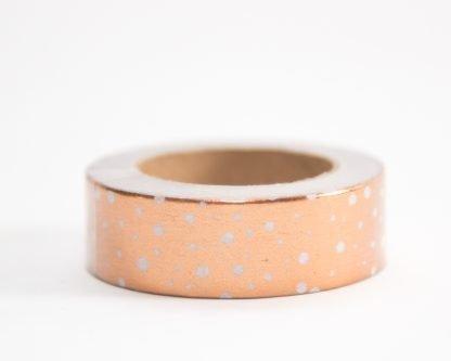 Rose Gold Speckled Washi Tape