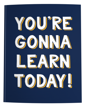 Teacher Lesson Planner | You're Gonna Learn Today